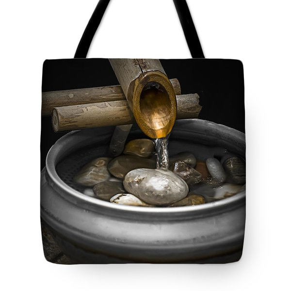 Soothing Flow Tote Bag by Julie Palencia
