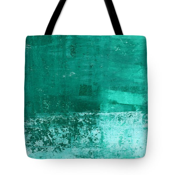 Soothing Sea - Abstract Painting Tote Bag