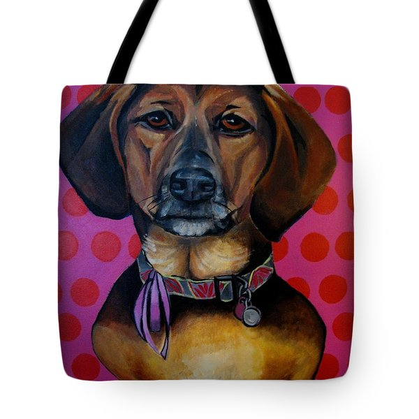 Sophia - My Rescue Dog  Tote Bag