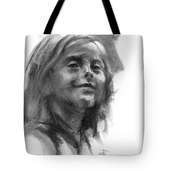 Sophie Section Tote Bag by Paul Davenport