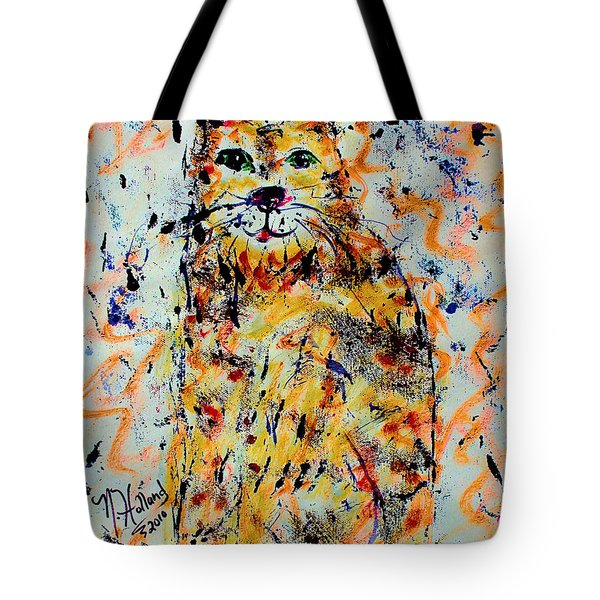Sophisticated Cat 3 Tote Bag by Natalie Holland