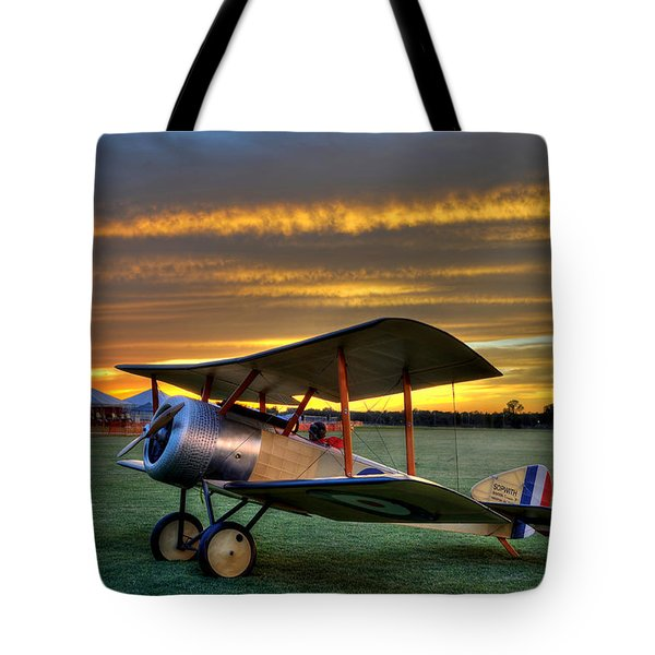 Sopwith Sunset Tote Bag