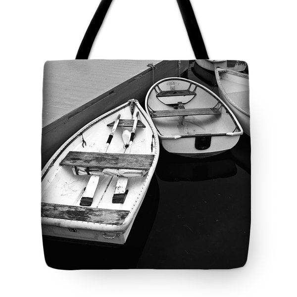 Sorrento Harbor Boats 2 Tote Bag