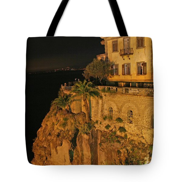 Sorrento Italy Tote Bag by Richard Engelbrecht