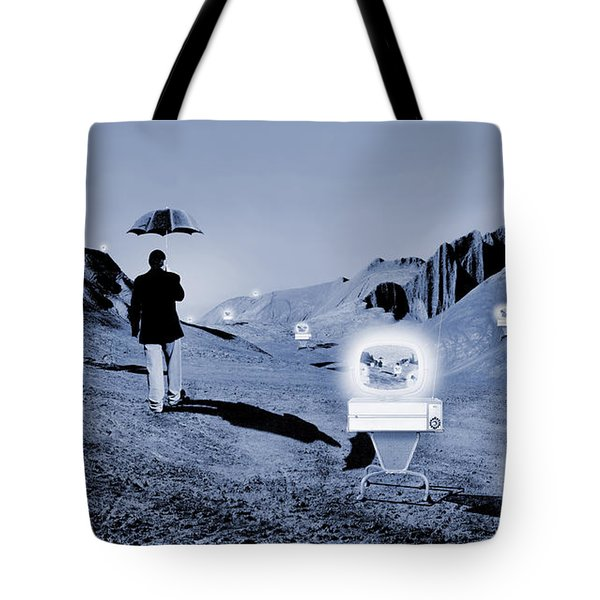 SOS Tote Bag by Mike McGlothlen