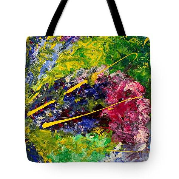 Modern Contemporary Diptych Part 2 Tote Bag
