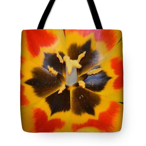 Soul Of A Tulip Tote Bag by Sonali Gangane