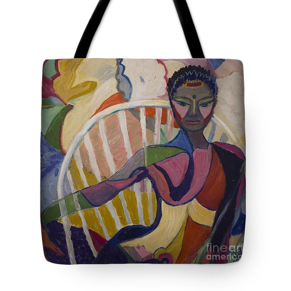 Soul Portrait Tote Bag