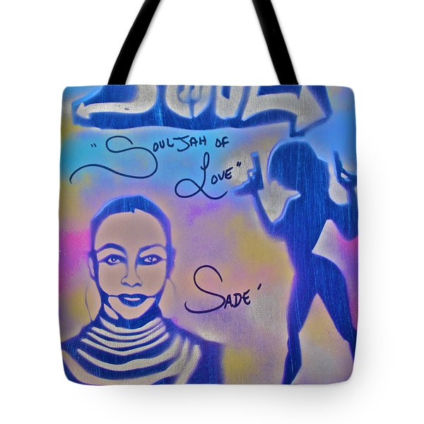 Souljah Of Love Tote Bag by Tony B Conscious