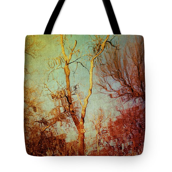 Souls Of Trees Tote Bag by Trish Mistric
