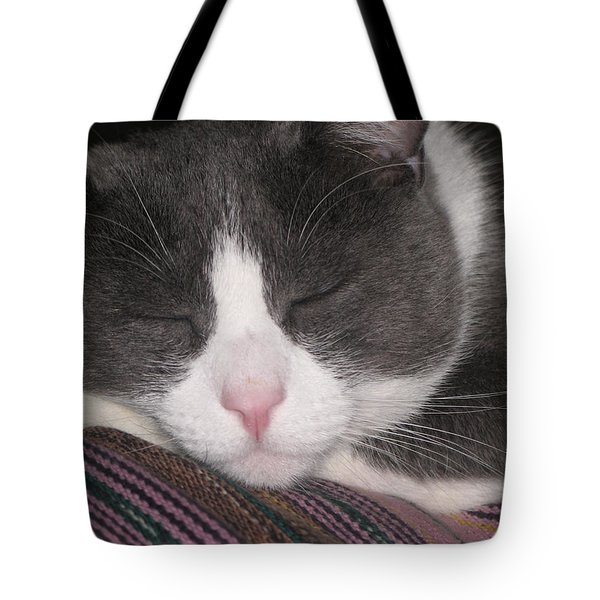 Tote Bag featuring the photograph Sound Asleep  by Chrisann Ellis