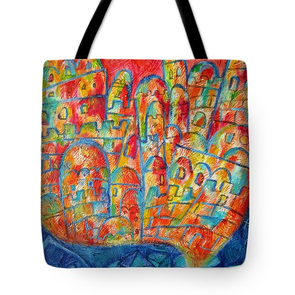 Sound Of Shofar Tote Bag