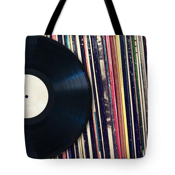 Sound Of Vinyl Tote Bag