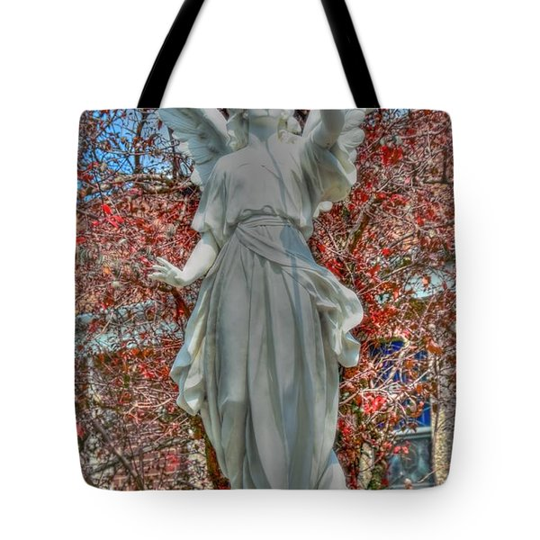 Sound The Trumpet Tote Bag by Kathleen Struckle