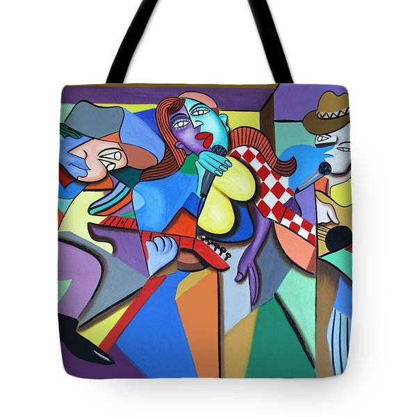 Sounds Like A Country Song Tote Bag by Anthony Falbo