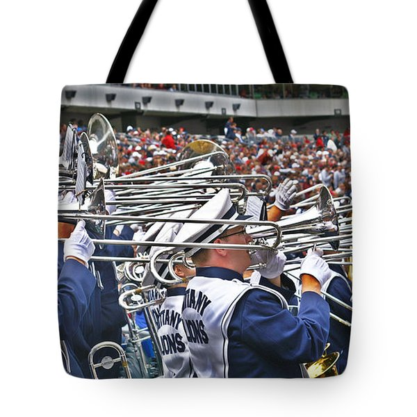 Sounds Of College Football Tote Bag