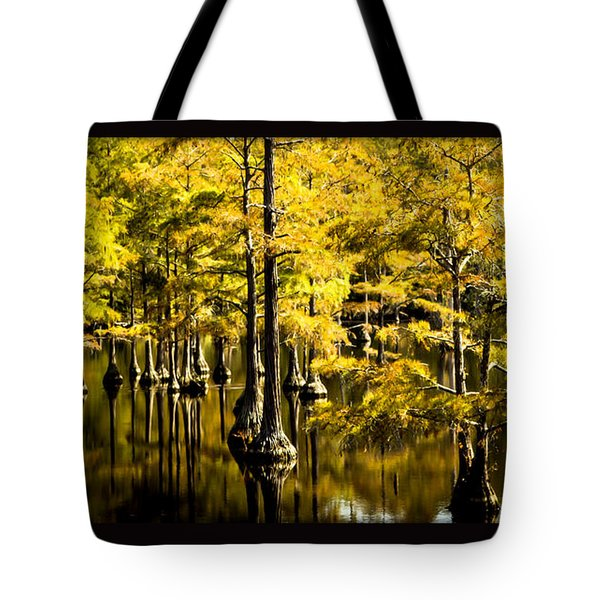 Sounds Of Time Tote Bag by Karen Wiles