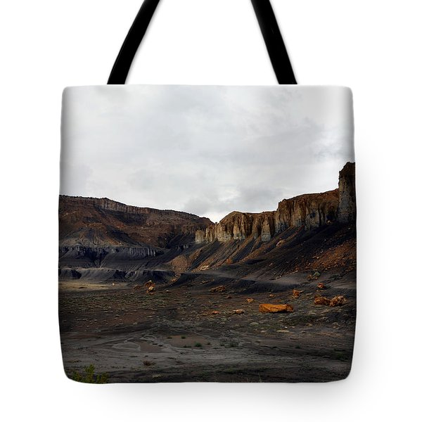 Source Of The Mud Flood Tote Bag
