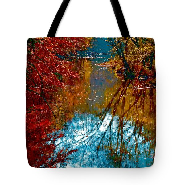 South Anna River Reflections Tote Bag