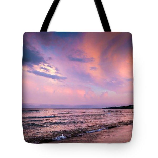 South Beach Clouds Tote Bag