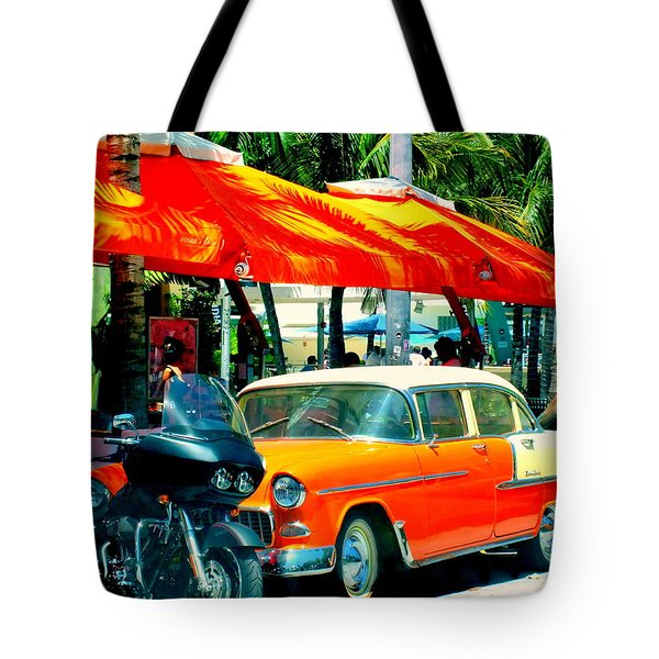 South Beach Flavour Tote Bag by Karen Wiles