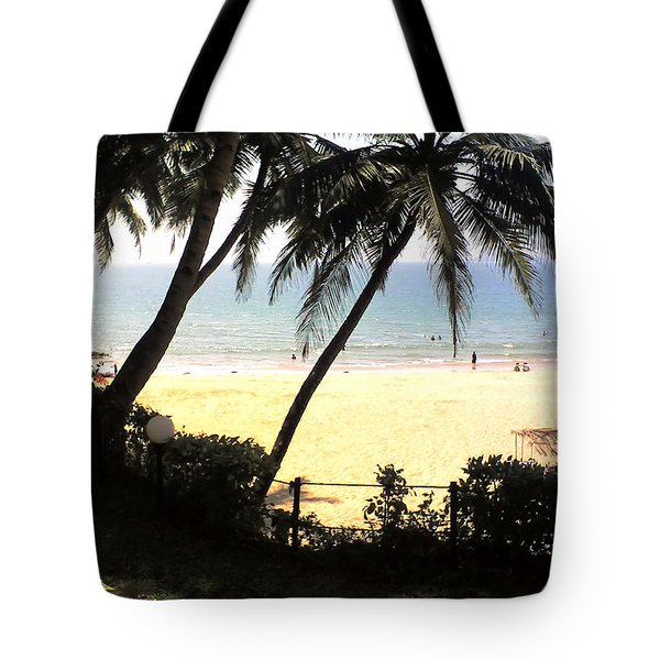 South Beach Tote Bag