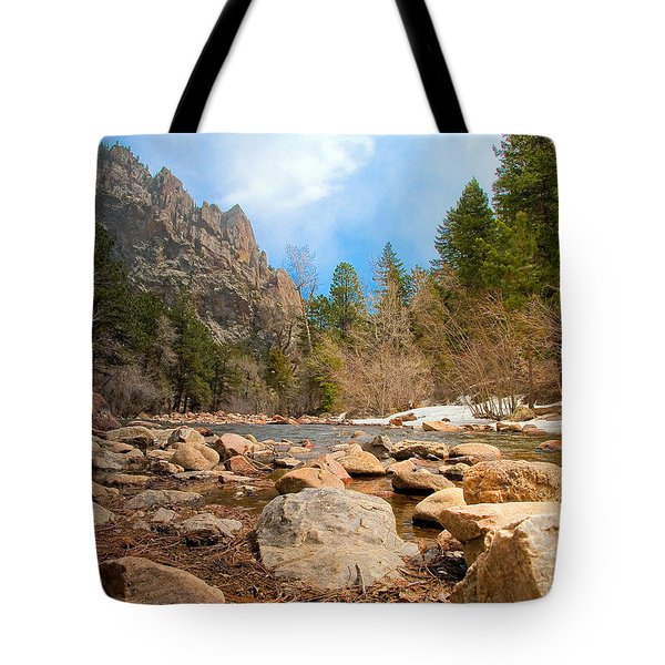 South Boulder Creek - Eldorado Canyon State Park Tote Bag