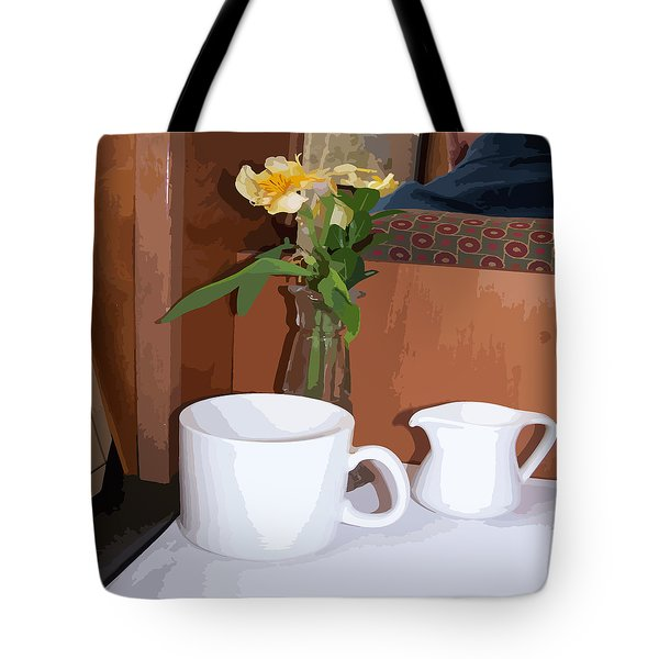 South Bound Train Tote Bag