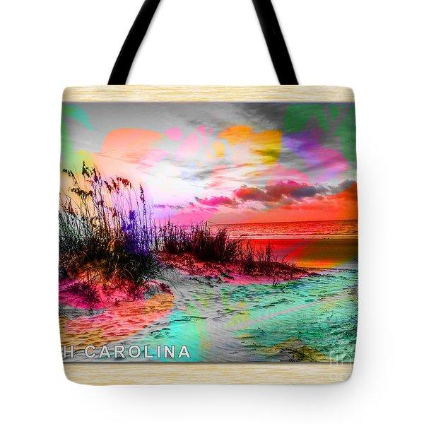 South Carolina Hilton Head Tote Bag
