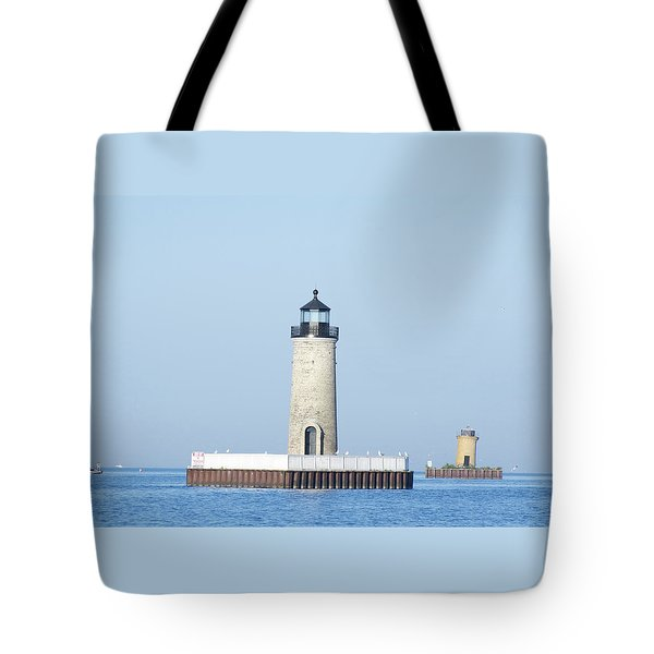 South Channel Lights Tote Bag