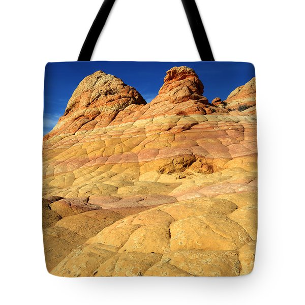 South Coyote Buttes 4 Tote Bag by Bob Christopher
