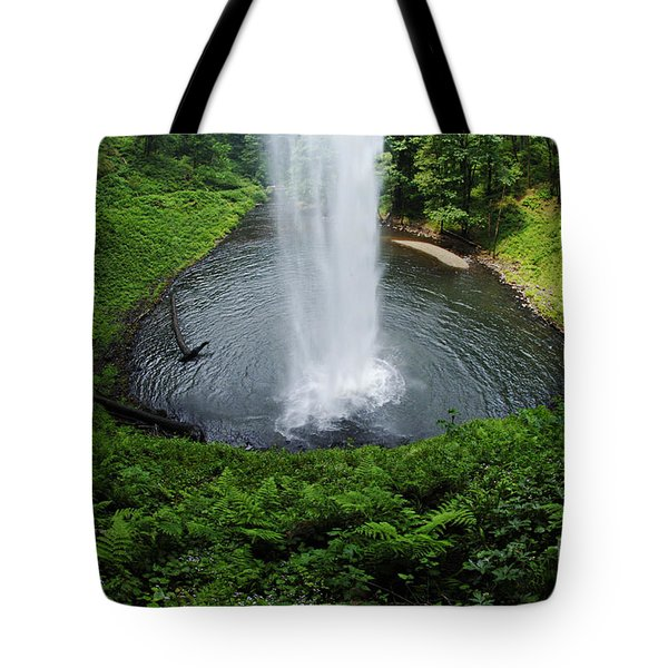 South Falls Oregon Tote Bag by Bob Christopher