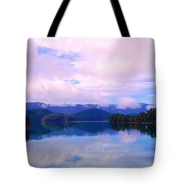 South Holston Lake Tn Tote Bag