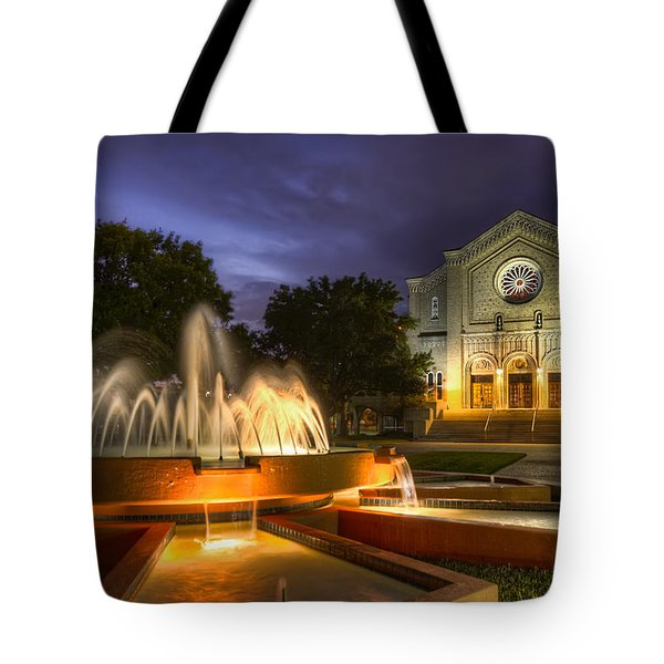 South Main Baptist Church Tote Bag by Tim Stanley