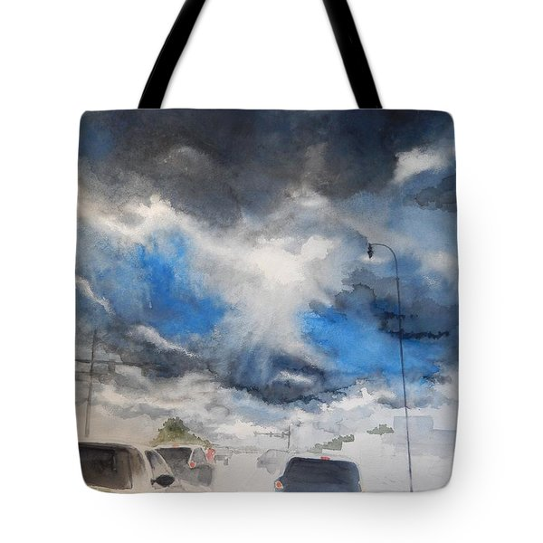 South Maple Road   Ann Arbor Michigan Tote Bag by Yoshiko Mishina