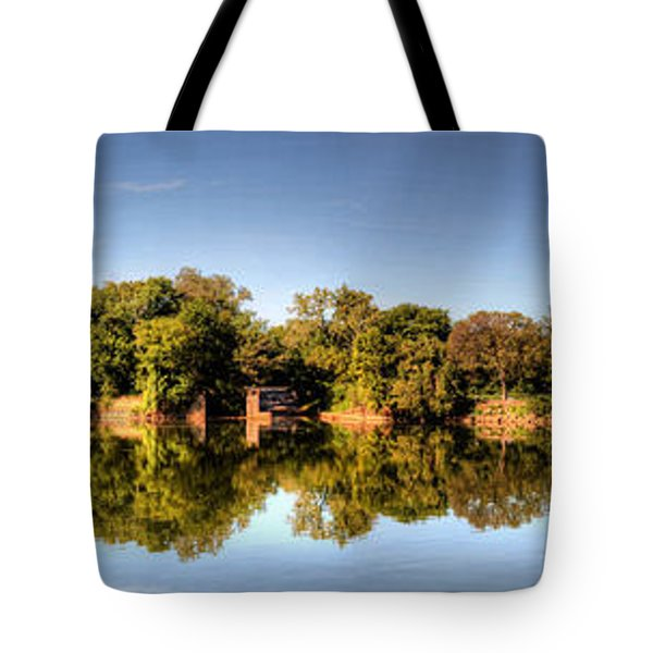 Tote Bag featuring the digital art South Of The James by Kelvin Booker