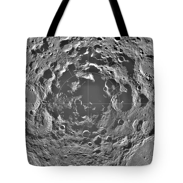 South Pole Of Moon  Tote Bag by Anonymous