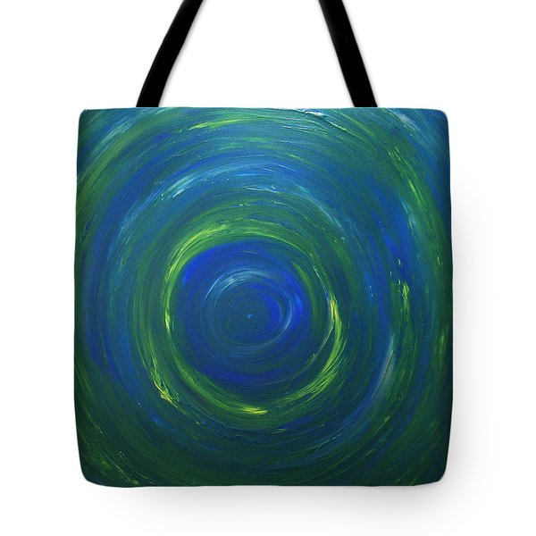 South Pole Of Saturn Tote Bag by Drew Shourd