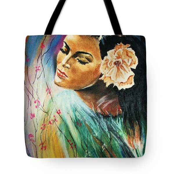 South Sea Flower Tote Bag