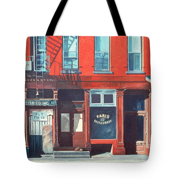 South Street Tote Bag by Anthony Butera
