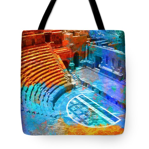 South Theatre Jordan Tote Bag by Catf
