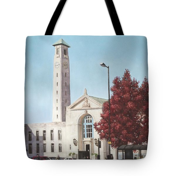 Southampton Civic Center Public Building Tote Bag