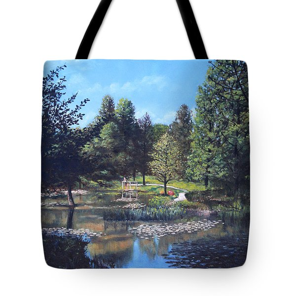 Southampton Hillier Gardens Late Summer Tote Bag by Martin Davey