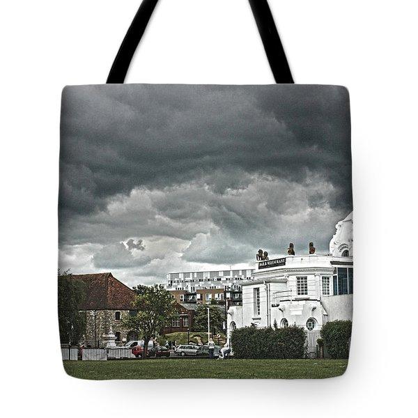 Southampton Royal Pier Hampshire Tote Bag by Terri Waters