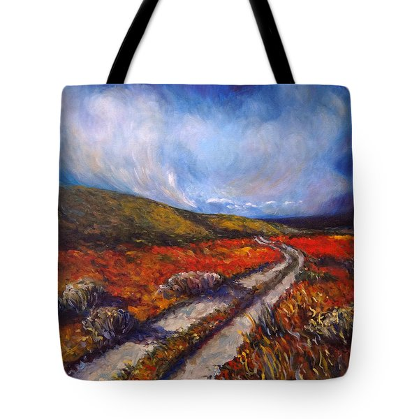Southern California Road Tote Bag