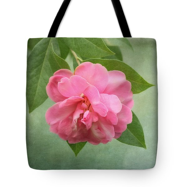 Southern Camellia Flower Tote Bag