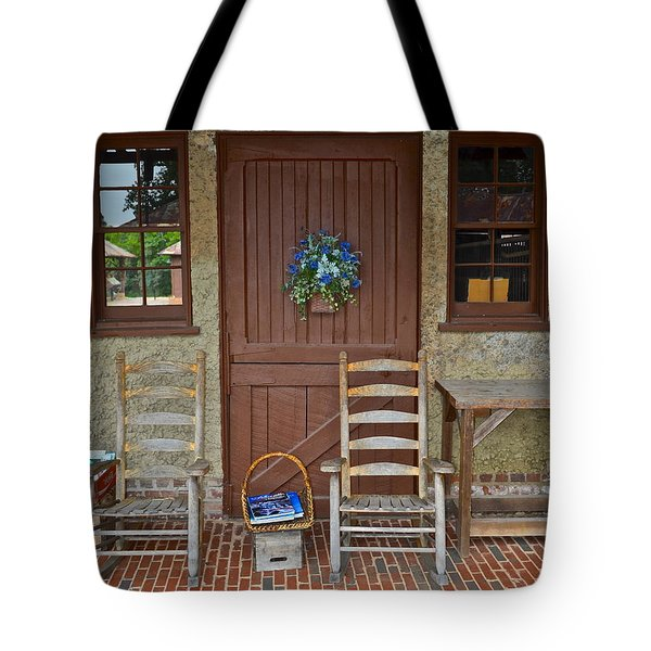 Southern Charm Tote Bag by Frozen in Time Fine Art Photography