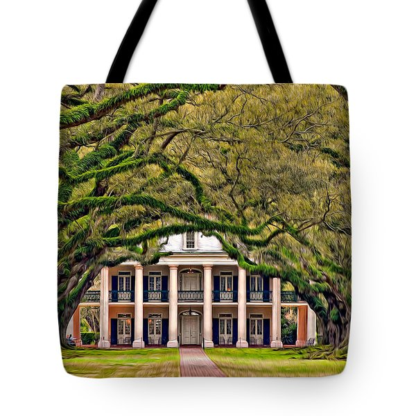 Southern Class Oil Tote Bag