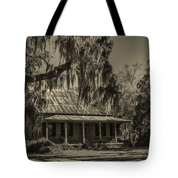 Southern Comfort Antique Tote Bag by Debra and Dave Vanderlaan