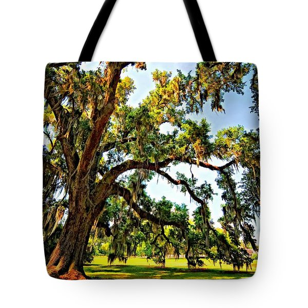 Southern Comfort Painted Tote Bag by Steve Harrington